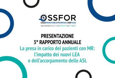 Farmaci Orfani, il 12 novembre la presentazione del 3° Rapporto
