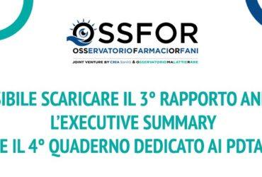 Il 3° Rapporto Annuale, l'Executive Summary e il 4° Quaderno dedicato ai PDTA