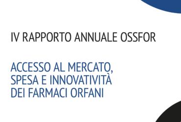 Presentato il 4° Rapporto OSSFOR dedicato a malattie rare e farmaci orfani