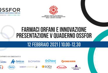 Il 12 febbraio 2021 si terrà la presentazione del V Quaderno OSSFOR